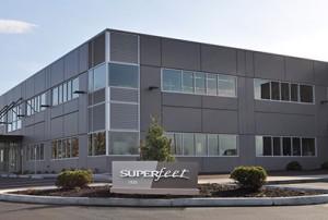 Nová budova Superfeet ve Ferndale
